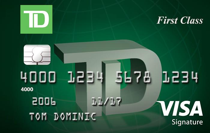 td bank credit card contact us
